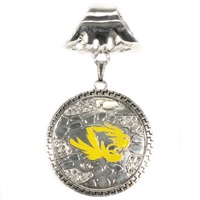 Ornate Scarf Pendant University of Missouri