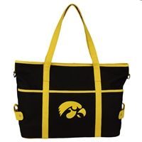 Iowa Jamie Tote Handbag Shoulder Purse Herky Hawk