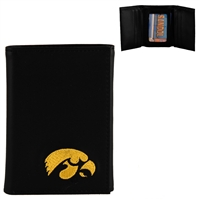 Men's Tri-Fold Wallet Iowa Hawkeye Collegiate Wallet