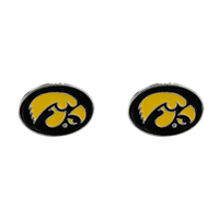 University of Iowa Mascot Logo Earrings Jewelry