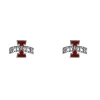 Iowa State Bevo Logo Earrings Jewelry