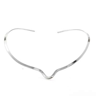 DIVOT OMEGA NECKLACE - Silver