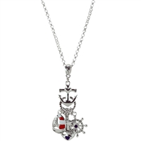 Nautical Charmed Necklace
