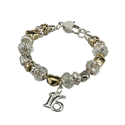 16th Birthday Charmbracelet