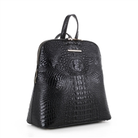 Women's Black Backpack Handbag