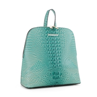 Women's Teal Backpack Handbag