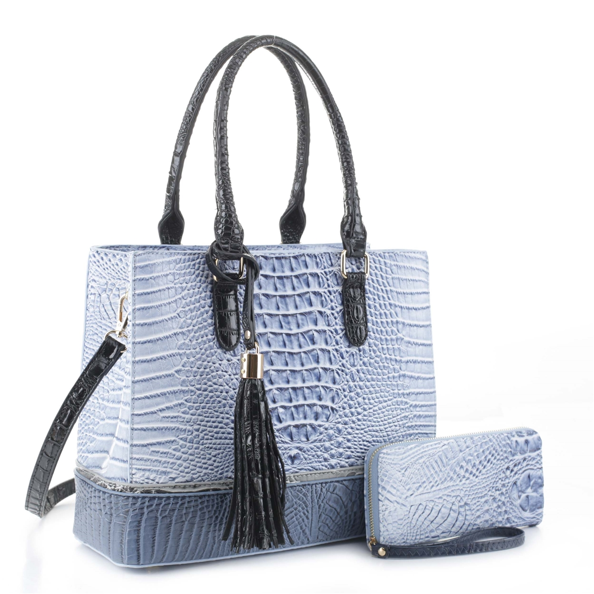 Dubatti One 3-Piece Set In Real Lambs Leather in the Plain or Quilted Style /& Free Set of Bag Hooks