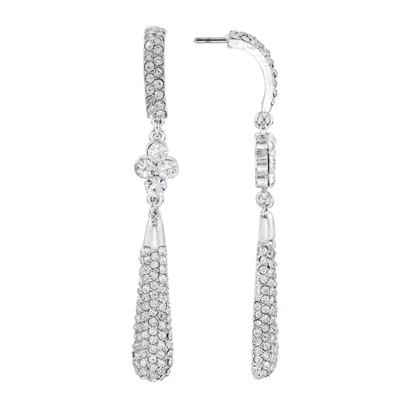 Clear Crystal Pendulum Dangle Wholesale Earrings