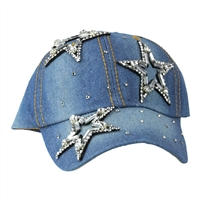 3 STAR DENIM HAT