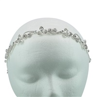 CRYSTAL FLOWER HEADPIECE
