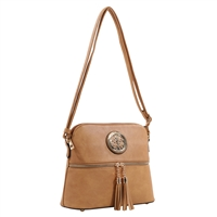 THE YOUTHFUL CROSSBODY | TAN