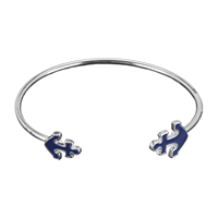 SEA LIFE CUFF BRACELET | ANCHOR