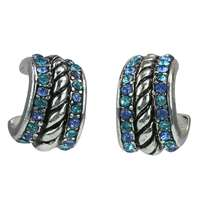 LIGHT SAPPHIRE CUFF EARRINGS