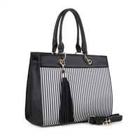 The Striped Handbag