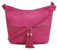 THE ACCESSIBLE CROSSBODY | FUCHSIA