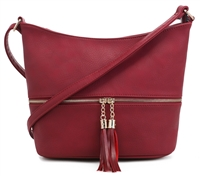THE ACCESSIBLE CROSSBODY | RED