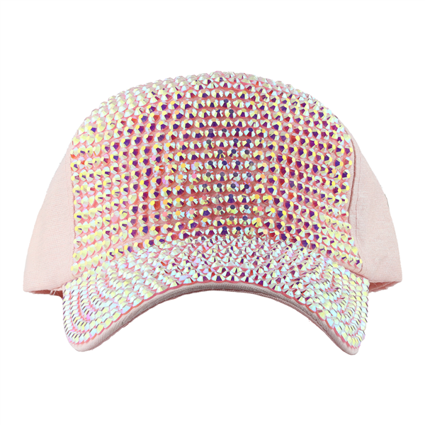 BEDAZZLED HAT | PINK