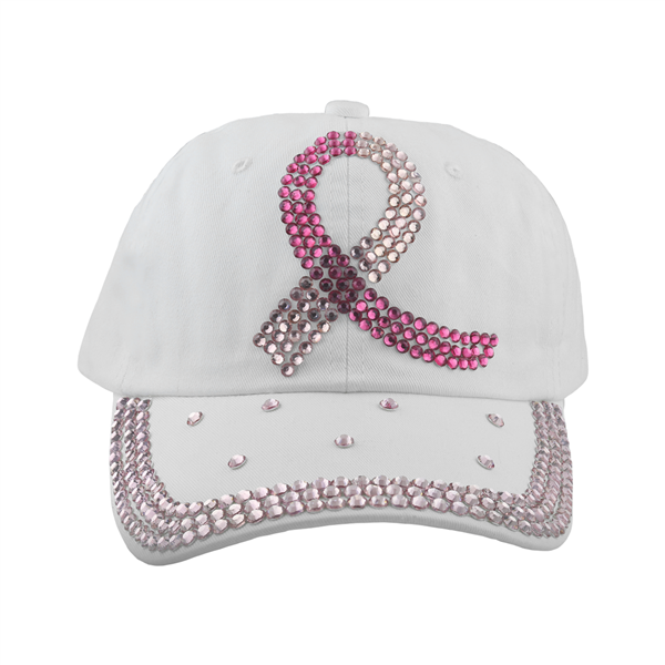 BREAST CANCER AWARENESS SOFT COTTON WHOLESALE HAT