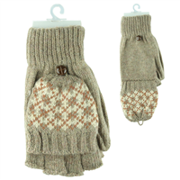 POP-TOP MITTEN GLOVES | KHAKI