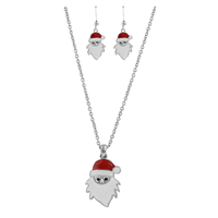 THE SANTA NECKLACE SET