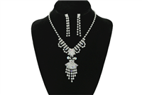 MULTICOLOR CRYSTAL NECKLACE SET