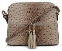 THE MOD CROSSBODY | TAUPE