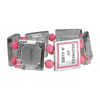 A PROMISE OF CURE BREAST CANCER BRACELET