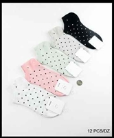 Women's Polka Dot Ankle Socks