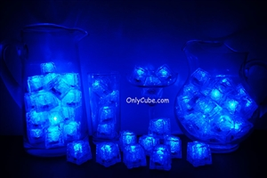 Blue LiteCubes 3 Mode Light Up Ice Cubes