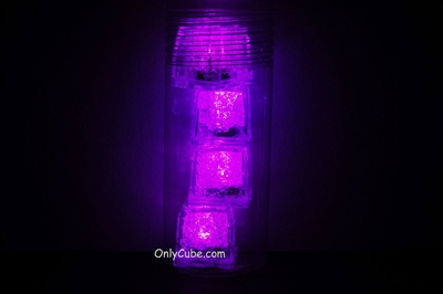 4 LiteCubes in a Tube - 3 Mode Pink