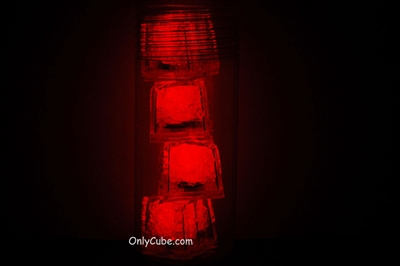 4 LiteCubes in a Tube - 3 Mode Red