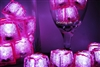 Rose Pink Jewel LiteCubes Light Up Ice Cubes