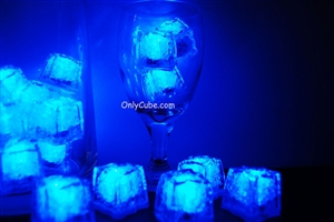 Sapphire Blue Jewel LiteCubes Light Up Ice Cubes