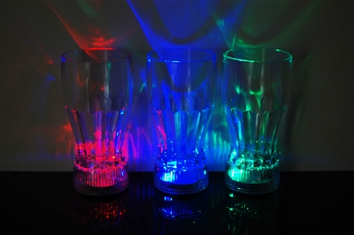 10oz LED Light Up Cola Glass