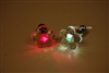 MultiColor LED Light Up Flower Shape Stud Earrings