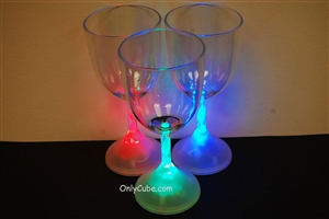 8oz LED Light Up Wine Glass