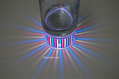 LiteRays LED Light Up Projection LitePod- Stripes