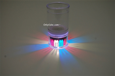 LiteRays Light Up Projection Shot Glasses- Ribbon