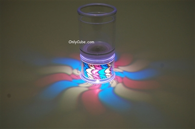 LiteRays Light Up Projection Shot Glasses- Twist