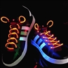 Orange LED Shoelaces