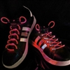 Red LED Shoelaces