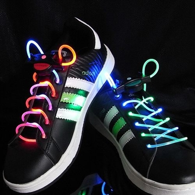 Rainbow LED Shoelaces