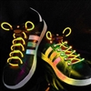 Yellow LED Shoelaces