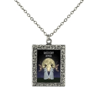 18 Moon Tarot Card Necklace