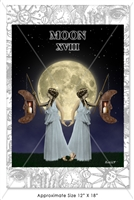 The Moon Tarot Poster