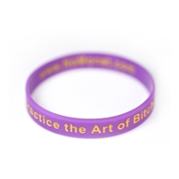Beware, I Practice the Art of Bitchcraft Silicone Bracelet