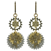 Gotcha Steampunk Earrings