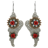 Angels Among Us Steampunk Earrings