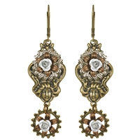 Emma Woodhouse Steampunk Earrings