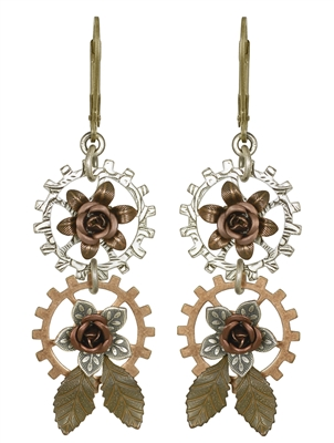 Frances Clayton Steampunk Earrings